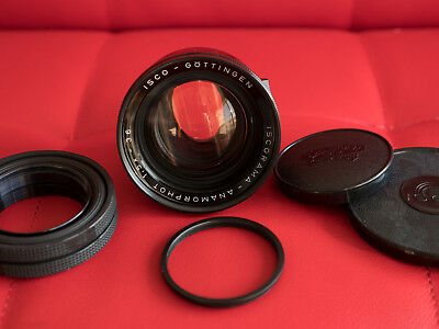 Non-MC Iscorama 36-1.5x anamorphot anamorphic lens adapter in rare NOS condition
