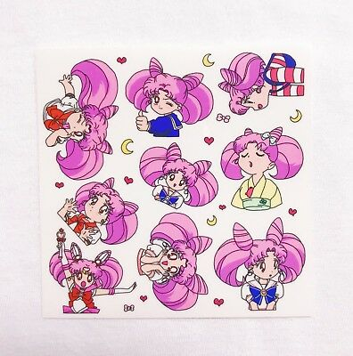 Korean Cute Stationery Diary Art Transparent Sticker 10sheets Sailor Moon