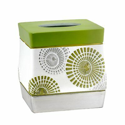 Popular Bath Bonnie Tissue Box, Lime