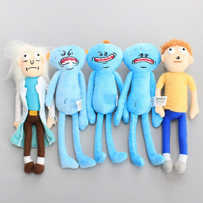 Rick And Morty Mr Meeseeks Different Face Stuffed Plush Doll Toys Surprise Gifts
