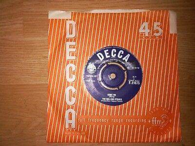 The Rolling Stones-Come On-Original 60's 45
