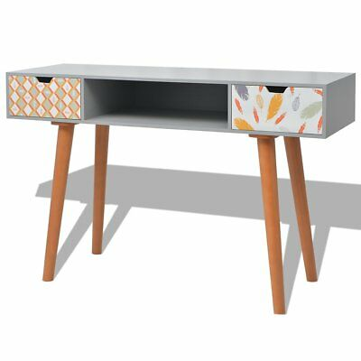 vidaXL Console Table Side Hall Table Telephone Stand Home Furniture MDF Grey