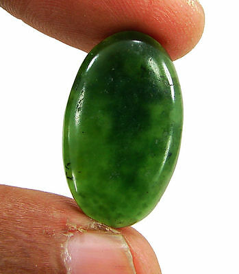 13.80 Ct Natural Green Serpentine Cabochon Loose Gemstone Stone - H5418