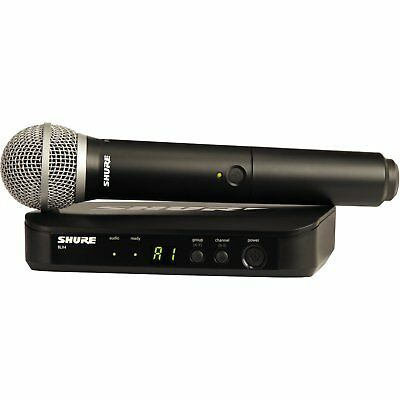 Shure BLX24/SM58 Wireless Microphone System - Brand New Unboxed - With Hard Case