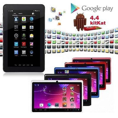 """7""""-Android 4.4 8GB Dual Cameras Quad Core WiFi Kids Child Tablet PC For Gifts ☪R"""