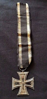 WW1 Original German medal Iron Cross mark 'KM' 1914 1918 Kreuz WK1