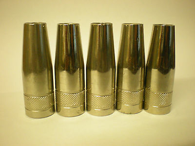 Mb15 Tapered Mig Nozzle / Shroud Push Fit X 5...