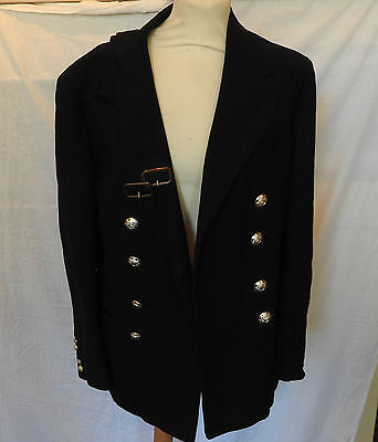 Military WW2 Officers Blue Dress Tunic Uniform With Belts G.Hohler Esq (3276)