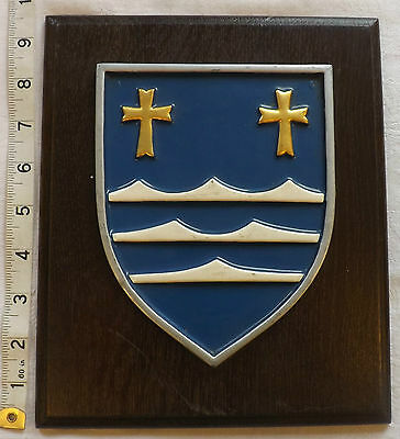 Original Military Panzer Grenadier Division Castle martin Metal Wall Plaque (998