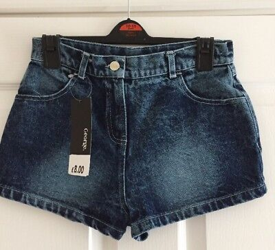 Girls Denim Shorts Age 10-11
