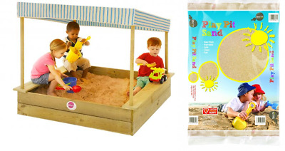 Play Pit Sand Bags Sandpit Clean Children Non Toxic Safe