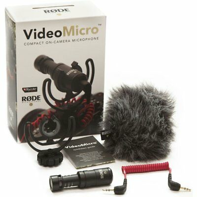 Rode Video Micro Compact On Camera Microphone (Please Read)