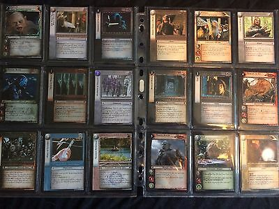 Over 50 Lord Of The Rings Trading Cards Joblot RARES
