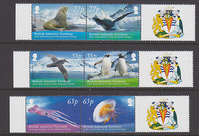 BAT 2009 Antartic Treaty set in joined pairs um-mint