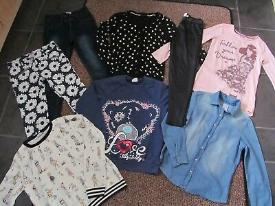 girls size 9-10 years clothing bundle, jeans, jumper, shirt, leggings etc