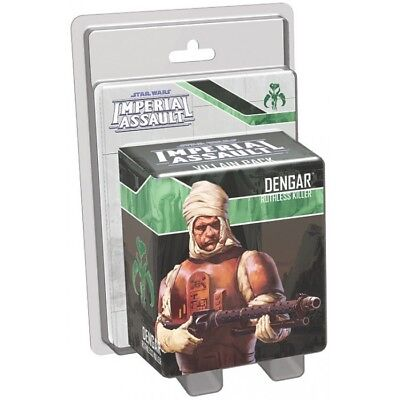 Star Wars Imperial Assault - DENGAR Ally pack - New and Sealed