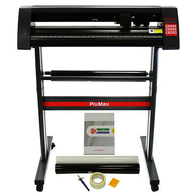Vinyl Cutter Plotter 720mm PixMax Cutting FlexiStarter Software & Weeding Kit