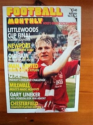 Football Monthly May 1989, Volume 15, No.4