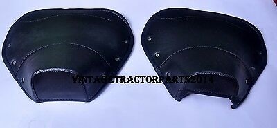 Gp And Li Series 3 Black Seat Covers. One Pair - Front & Back.
