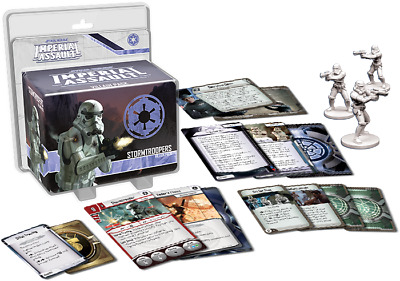 Star Wars Imperial Assault - STORMTROOPERS villain pack - New and Sealed