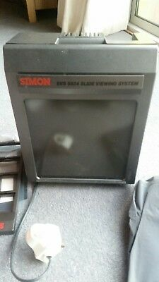 SIMON SVS 5824 complete slide viewing system Very rare find!