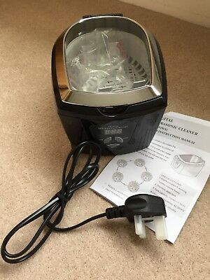 Ultrasonic Cleaner plus remaining cleaning solution(used once) from Airbase