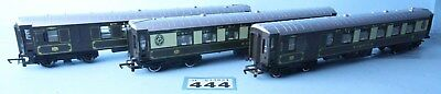 Hornby 'oo' Gauge Qty Of 3 Assorted Pullman Brake Coaches #444B