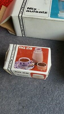 vintage food mixer AKA Electric RG28 Kitchen Set. All boxed in A1 condition