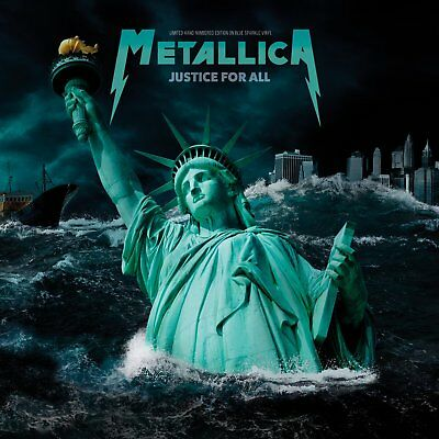 Metallica - Justice For All: Limited Edition Hand Numbered on Blue Vinyl