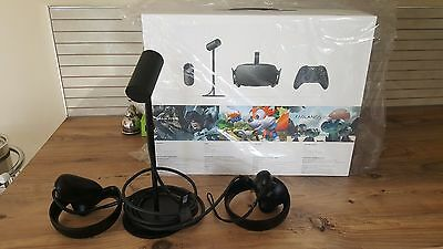 Oculus Rift CV1 replacement (brand new) touch controllers 6 mths old + extras