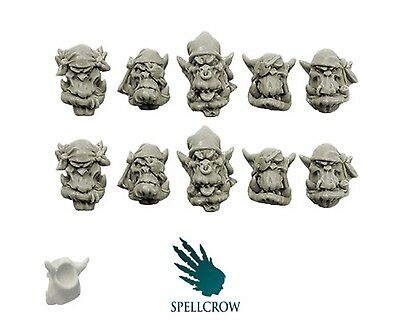Spellcrow - Freebooter Orc Heads Version 2