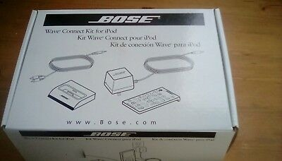 Bose Wave Connection Kit to connect iPod through your Bose wave system