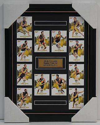 Richmond Tigers 2017 Select Card Team Set Framed Cotchin Dustin Martin Riewoldt
