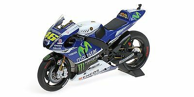 1:12 Minichamps 122143046 Valentino Rossi 2014 Bike Yamaha YZR-M1 - NEW in BOX