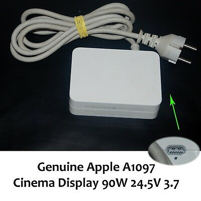 Genuine Apple A1097 Cinema Display 90W 24.5V 3.7A Power Adapter - 2 Pins Plug