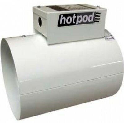 TPI Hotpod 8' Diameter Inlet Duct Mounted Heater Hardwired HP8-1440120-2T 120V