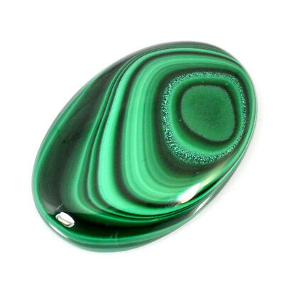 180.00Cts NATURAL GREEN DESIGNER MALACHITE OVAL CABOCHON LOOSE GEMSTONES 59-01