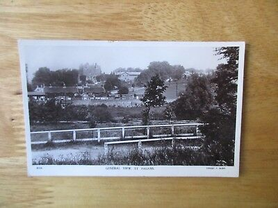 vintage postcard * General View, St. Fagans (Cardiff) * postally used