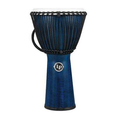 LP Latin Percussion LP725B Djembe 12 1/2'' - FX Rope Blue/Synthetic