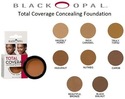 Black Opal Make Up Oil Free Total Coverage Concealing Foundation - Made In USA
