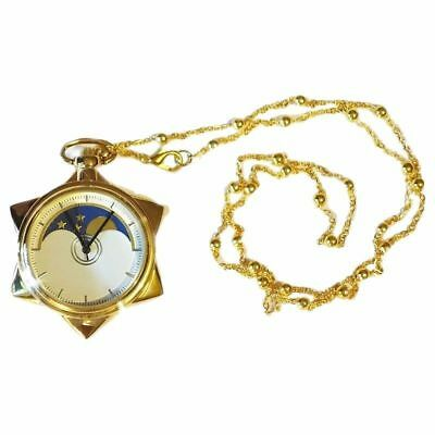 New Fashion Sailor Moon 20th Anniversary Pocket Watch Necklace Gift Accessories