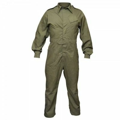 British Army Mechanic Olive One Piece Overall Coverall Work Boiler Suit Used