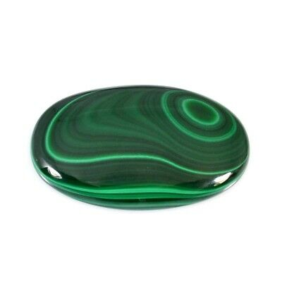 199.05Cts NATURAL HUGE GREEN MALACHITE OVAL CABOCHON LOOSE GEMSTONES 53-67