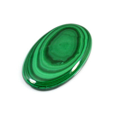 198.00 Cts NATURAL MALACHITE OVAL CABOCHON LOOSE GEMSTONE 58-17