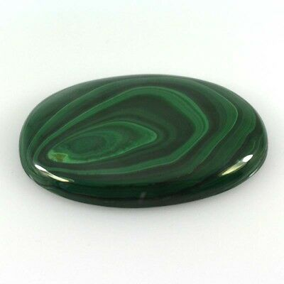 196.00 Cts NATURAL MALACHITE OVAL CABOCHON LOOSE GEMSTONE 56-16