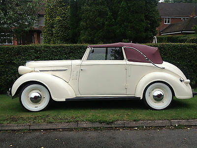 CHRYSLER DROP HEAD CONVERTIBLE 1937 rare rare rpre war car VERY NICE CAR vscc