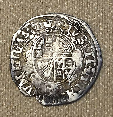Great Britain 1625-1649 England Silver 2 Pence King Charles I London Mint Rare!