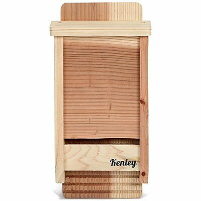 Bats Bat Box House Shelter Single Chamber Outdoor Houses Kit Cedar Wood
