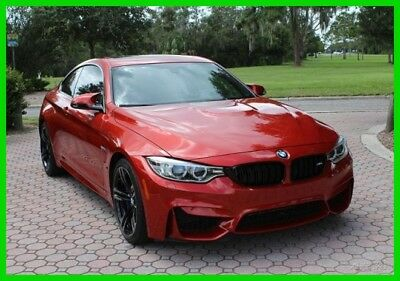2016 BMW M4  Rare Color 2016 BMW M4 Coupe Twin Turbocharged 3.0L I6 24V Automatic RWD Loaded