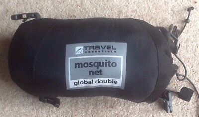 Mosquito Net Double bed Travel Essentials 400g Mossie Bugs Fly Insect Spider Ant